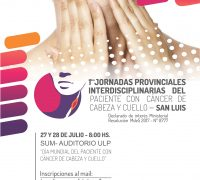afiche JORNADAS – CUELLO Y CABEZA